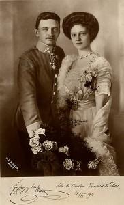 10 - Engagement Portrait, July 12, 1911--Photo, Carl