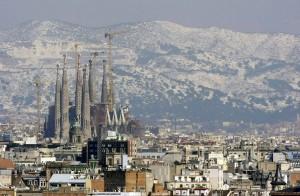 LA cathédrale de la Sainte-Famille à Barcelone. L'oeuvre de plus d'un siècle de travail.