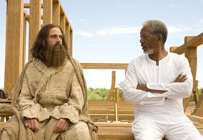 Evan le Tout-Puissant, dialogue entre le nouveau Noé et Dieu