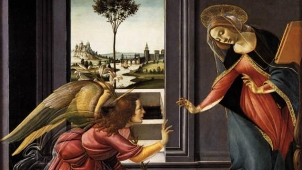 Annunciazione Botticelli cropped