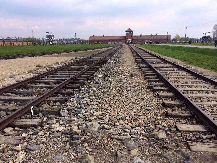 Auschwitz RR tracks