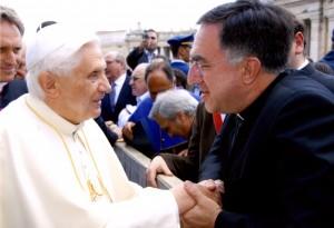 Benedict XVI & Fr. Rosica 1