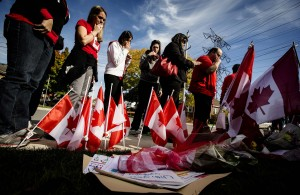 Workers from Canadian Catholic school honor man killed in Ottawa shooting