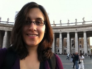 Danielle Jones à Rome