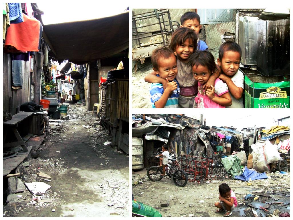Dans les bidonvilles de Manille