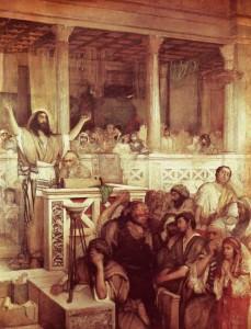 Gottlieb-Jesus prechant a Capharnaum