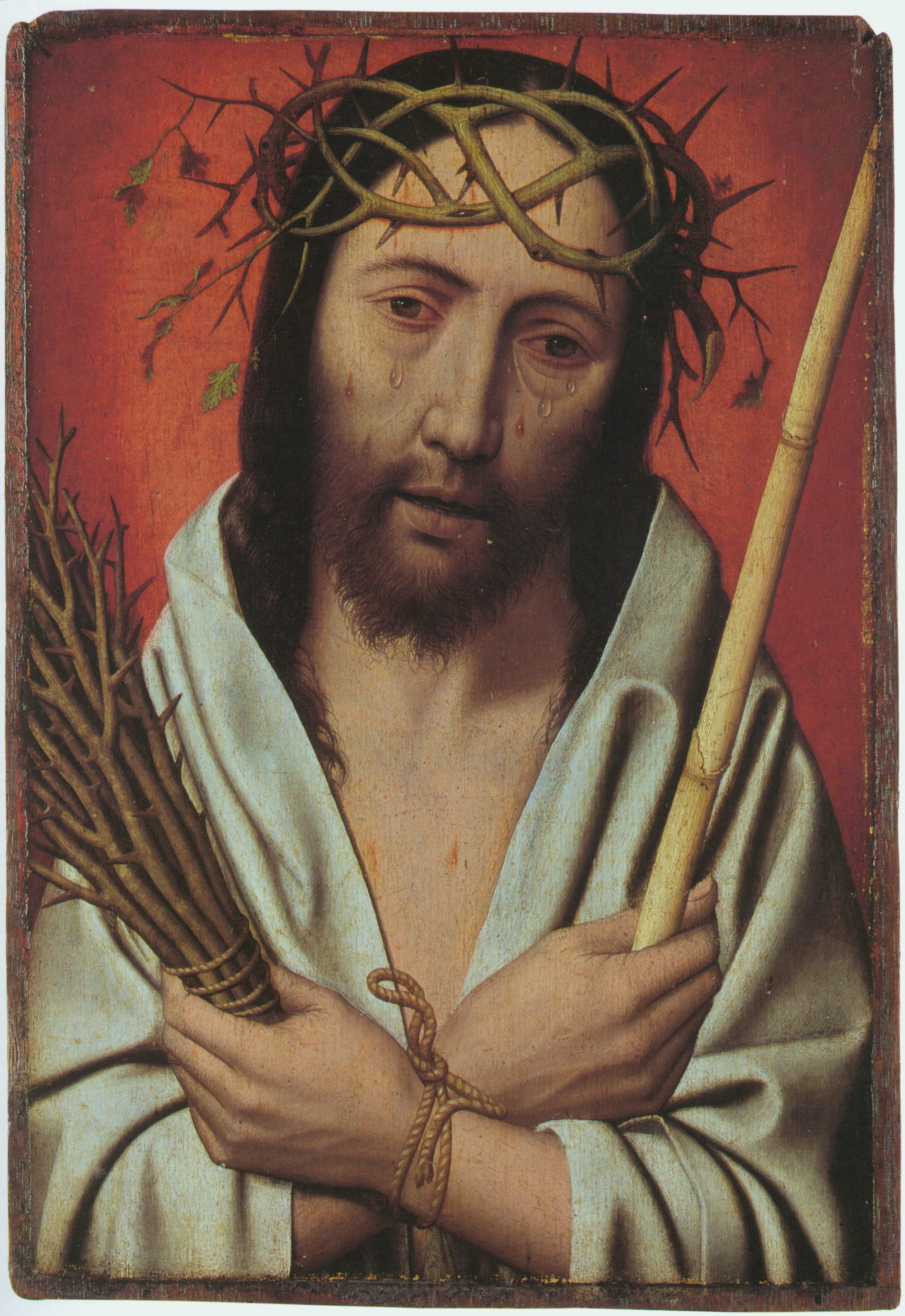 Jesus Crowned with thorns Jan Mostaert