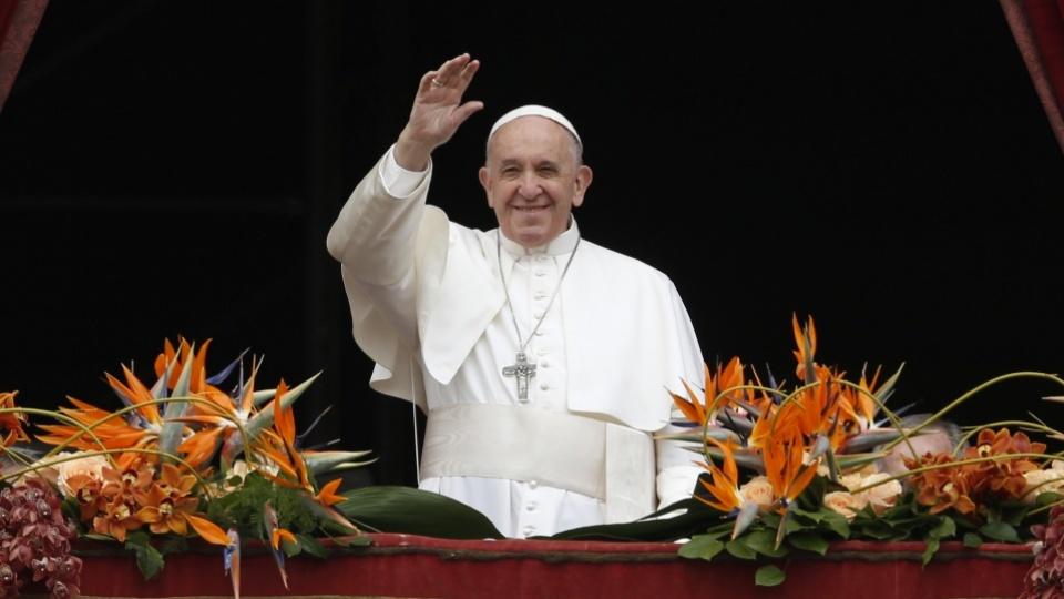 Urbi et Orbi du Pape François : «La résurrection est le début d'un monde nouveau»