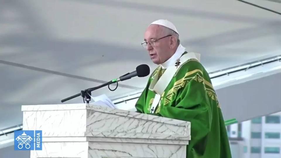 Homélie du pape François lors de la Messe de conclusion des JMJs 2019 au Panama