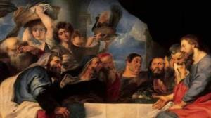 RUBENS-Pieter-Pauwel-Christ chez Simon le Pharisien-1618-20