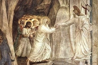 Risen Christ among the dead