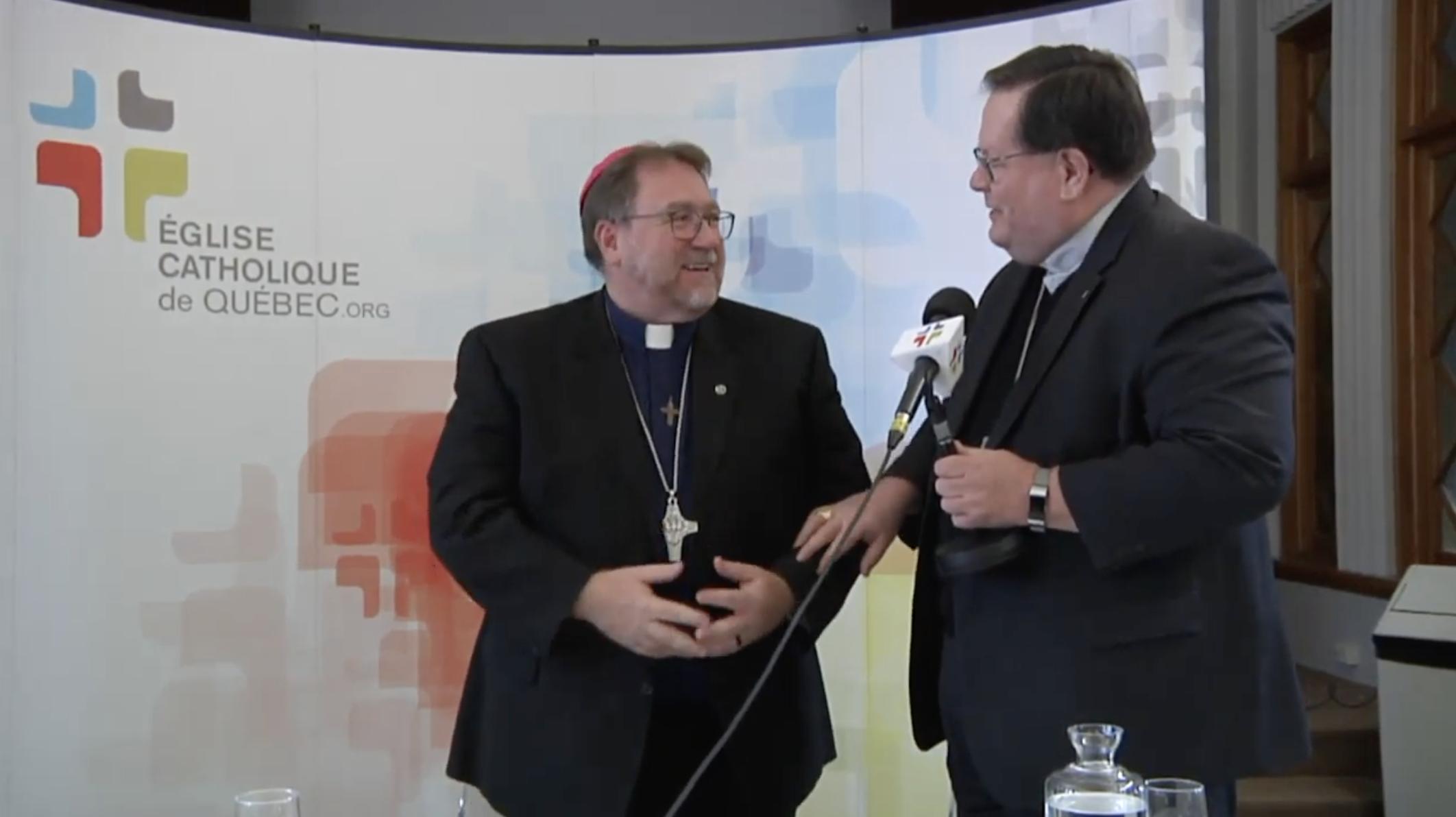 Nouvel évêque auxiliaire à Québec