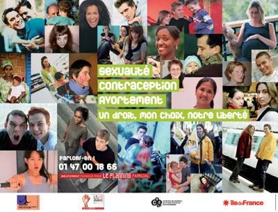 Affiche campagne pro-avortement