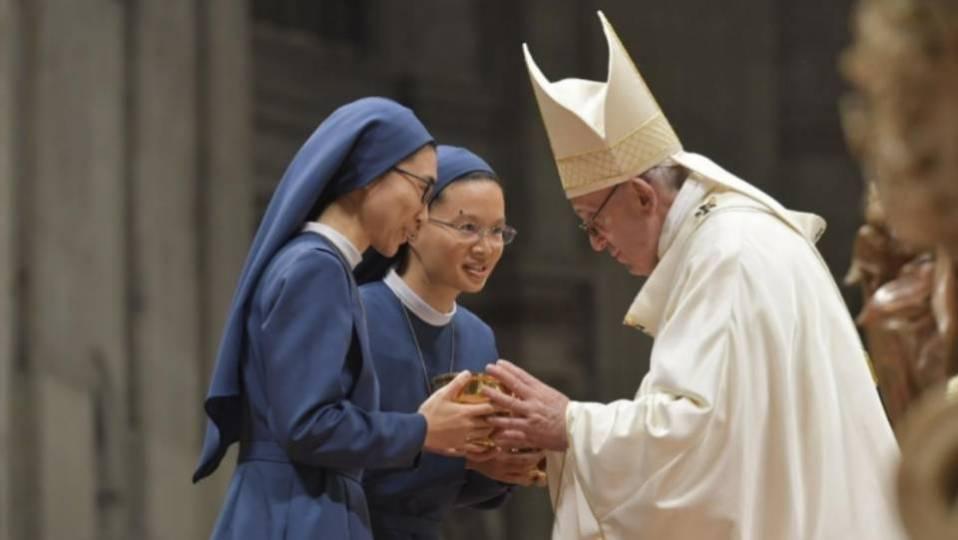 Homélie du pape François pour la fête de la Présentation du Seigneur