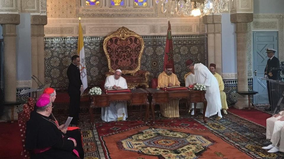 Appel du pape François et roi Mohammed VI sur Jérusalem