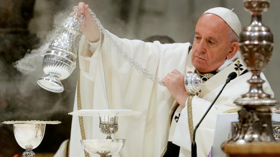 Messe chrismale au Vatican : homélie du pape François