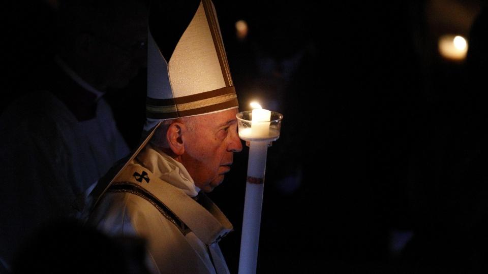 Vigile Pascale au Vatican: homélie du pape François