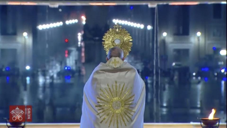 Homélie du pape François lors de la bénédiction «Urbi et Orbi» contre le COVID-19