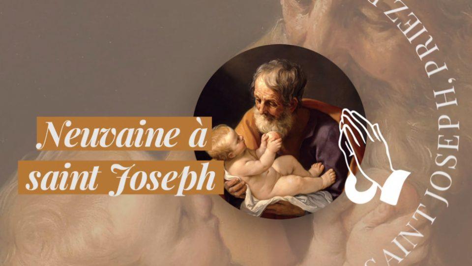 Neuvaine à saint Joseph : priez avec nous!