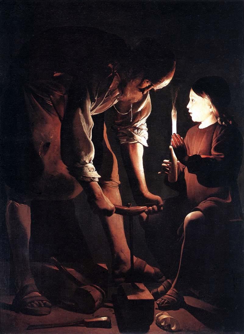 Joseph le charpentier (Georges de la Tour)