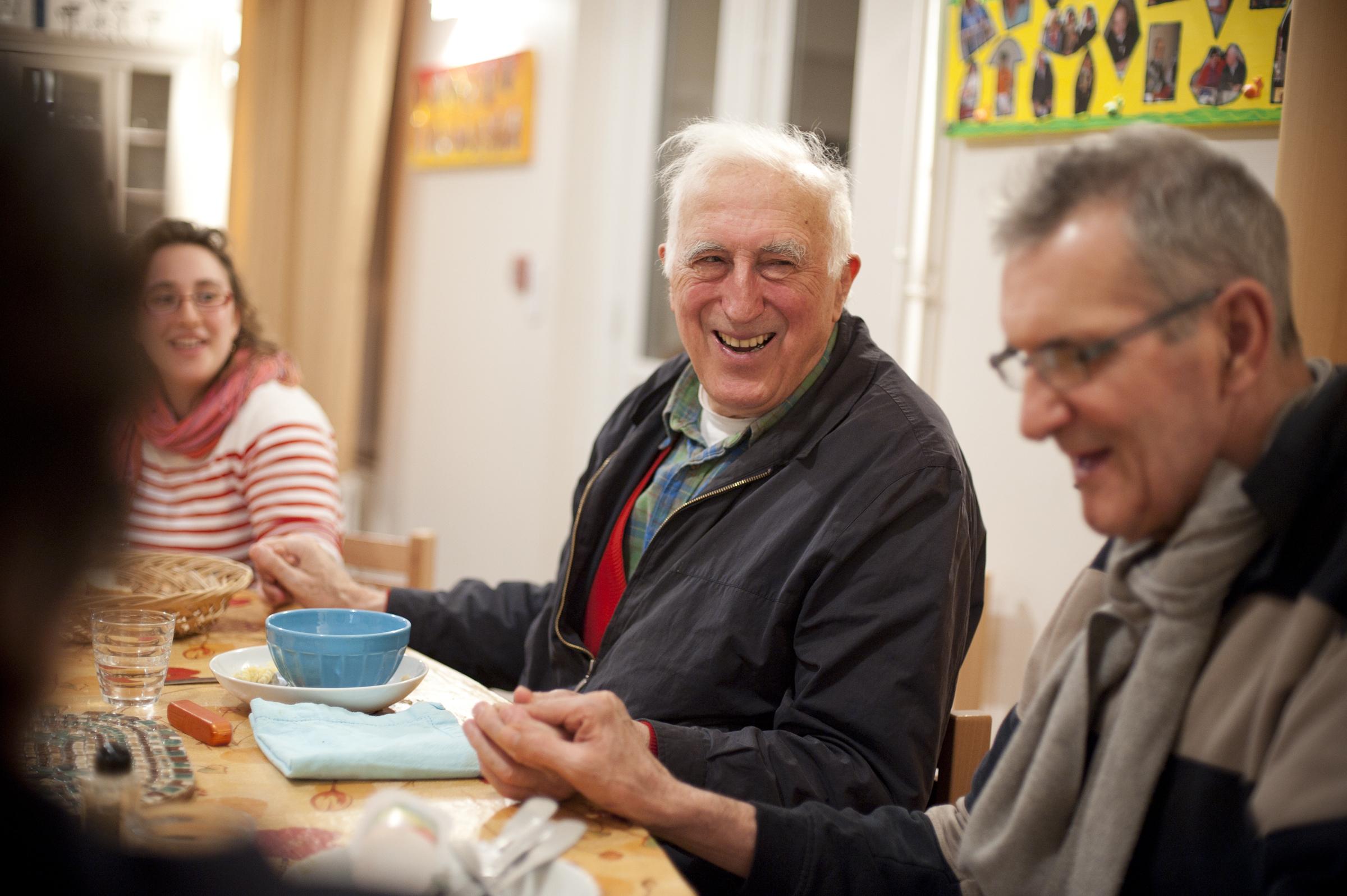 Jean Vanier, l'artisan de paix