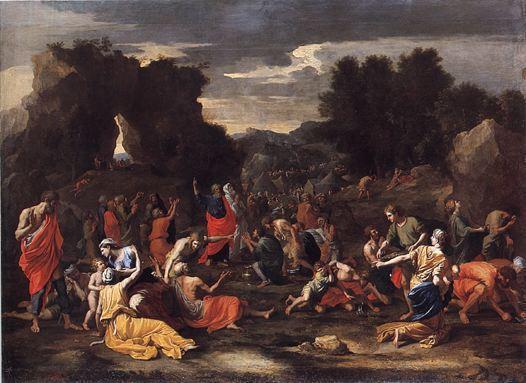 La manne - Nicolas Poussin, 1639 Musée du Louvre