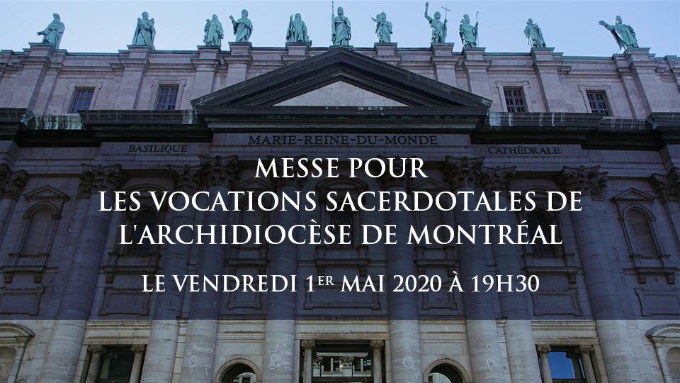 Messe pour les vocations sacerdotales de l'archidiocèse de Montréal