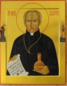 L'icône officielle du saint frère André (Photo : Charles Mc Bride, c.s.c.