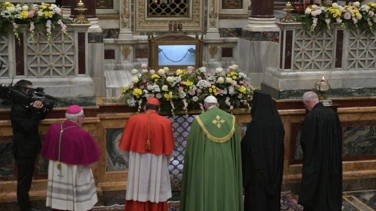 Homélie du pape François lors de l'ouverture de la semaine pour l'unité des chrétiens