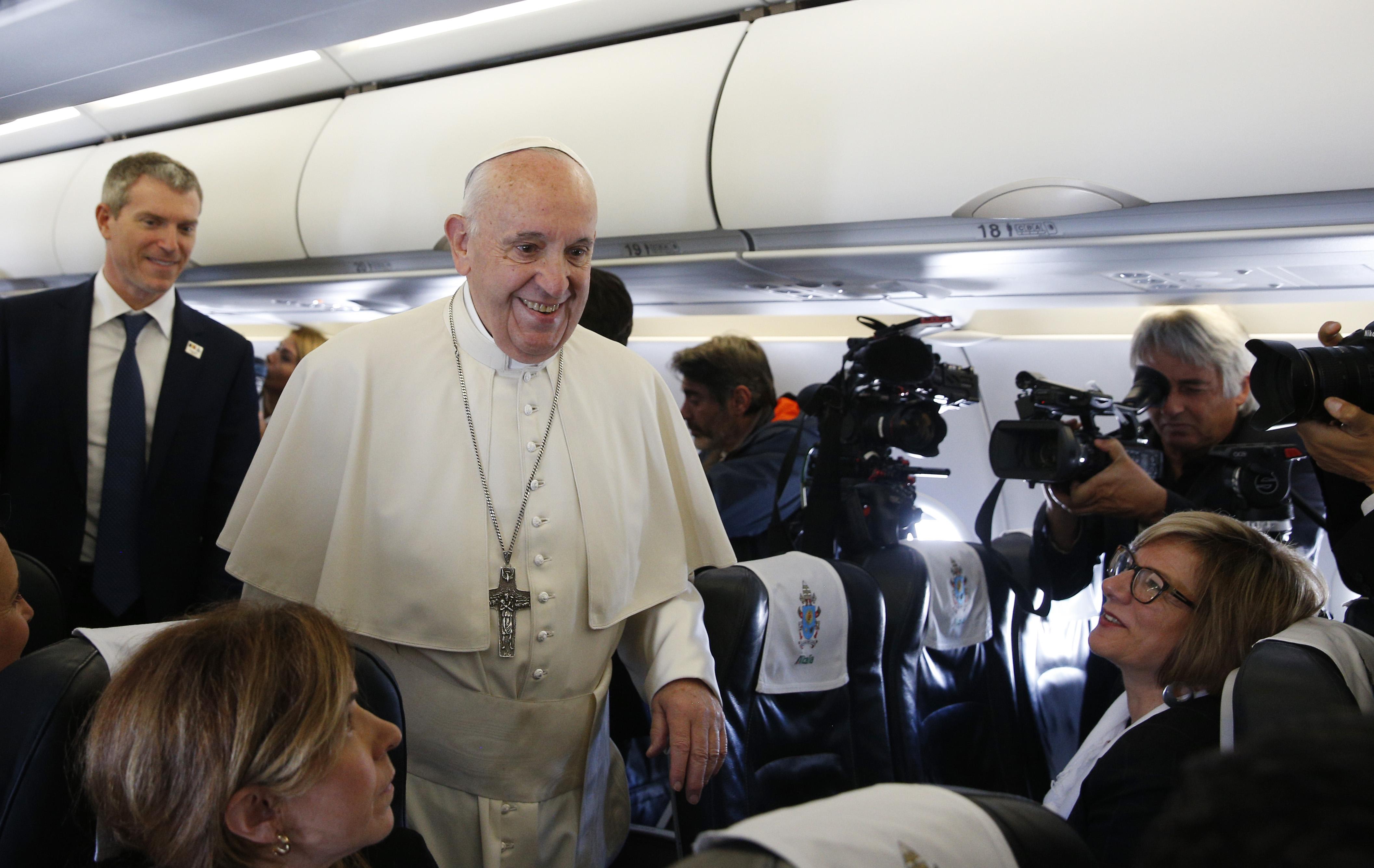 Le Pape et le journalisme
