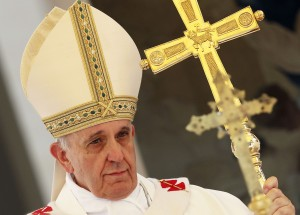 Pope Francis celebrates Mass for feast of the Assumption of Mary at summer residence outside Rome