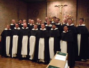 NEWLY VESTED NOVICES MAKE UP DOMINICAN PROVINCE'S LARGEST NOVITIATE CLASS IN DECADES