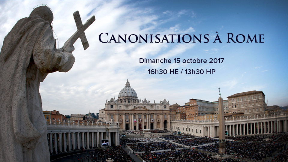 Canonisations à Rome – oct, 2017