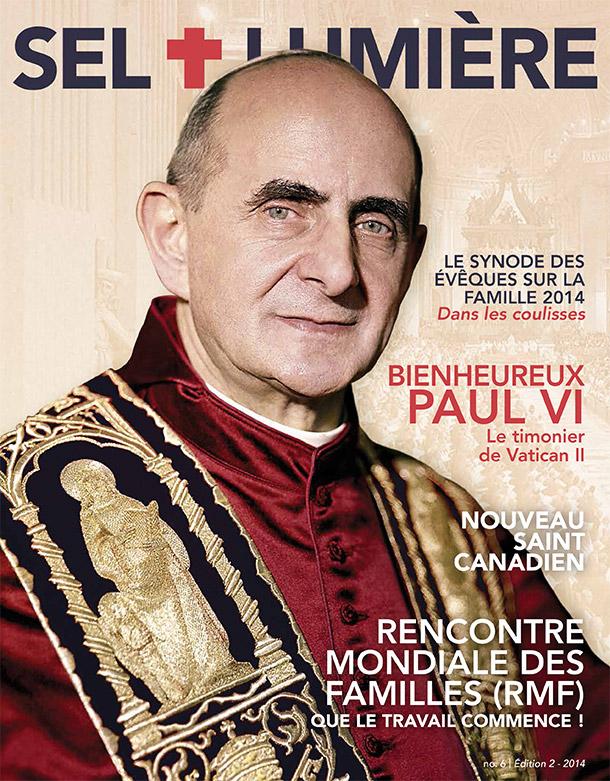 Magazine Sel + Lumière sur Pope Paul VI