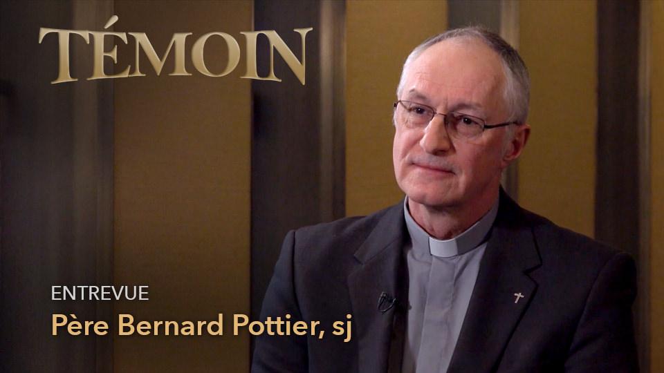 Père Bernard Pottier, sj